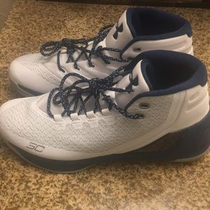 Curry 3 White / Navy